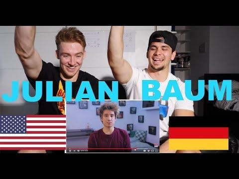 AMERICANS REACT to JULIEN BAM!