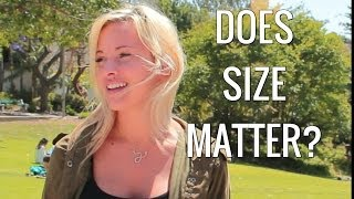 "College Girls on ""Does Size Matter?"""