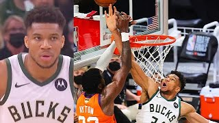 Giannis SAVES ENTIRE BUCKS With His Craziest Block & Middleton Takes Over In Game 4! Bucks vs Suns