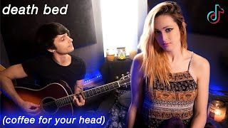 death bed (coffee for your head) - Powfu ft. beabadoobee (Cover) Jaclyn Glenn & Future Sunsets