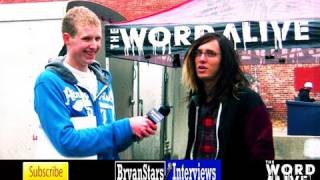 "The Word Alive Interview #2 ""Telle"" Tyler Smith 2012"