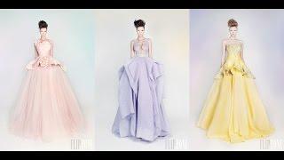 Top-25 Best Fashion Color Wedding Dresses