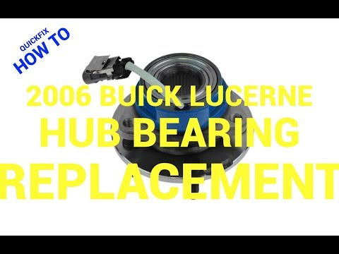 😲How to Replace a Hub Bearing on a Buick Lucerne: Philadelphia👌🏾