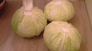 Kako Se Kiseli Kupus - Glavice Za Salatu I Sarmu