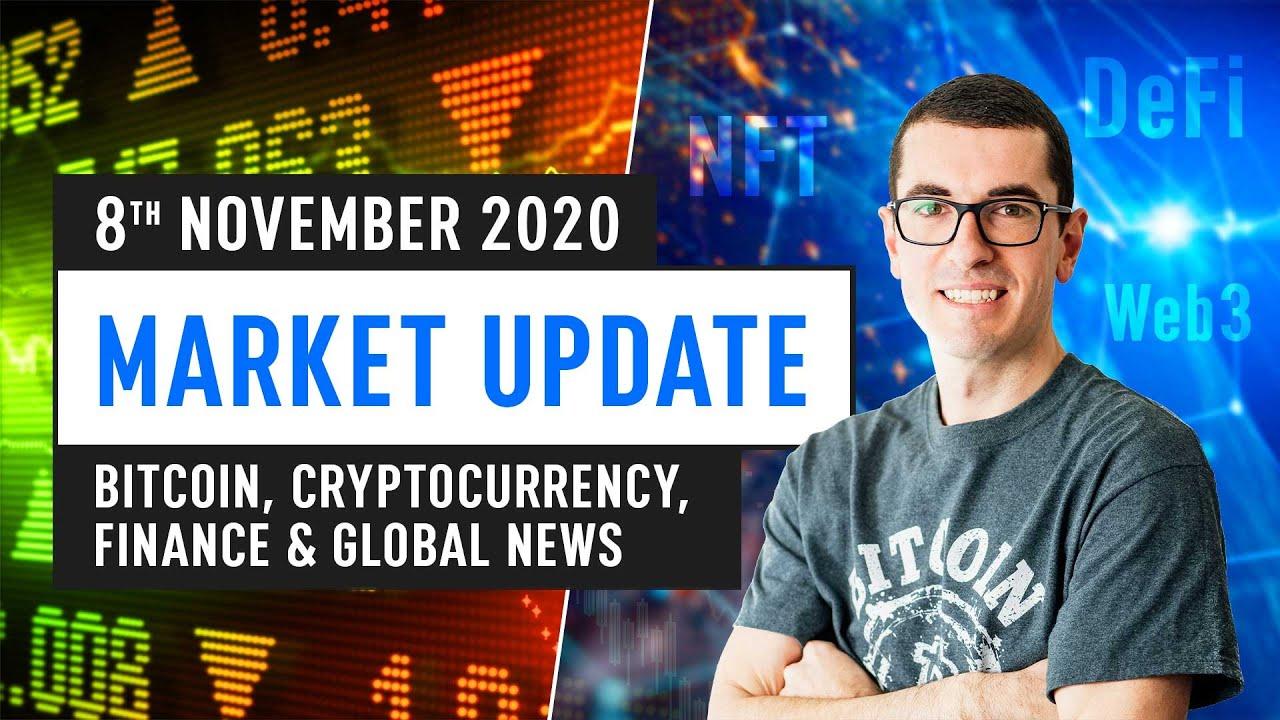 Bitcoin, Ethereum, DeFi & Global Financing News– November 8th 2020