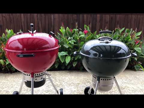 Red Weber Kettle limited edition review vs Weber Premium | Which is better?