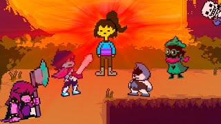 I wrote the rest of Deltarune so Toby Fox doesn't have to
