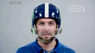 Through The Decades: Football Helmet