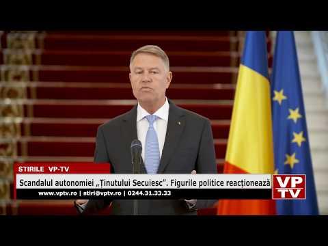 """Scandalul autonomiei """"Ținutului Secuiesc"""". Figurile politice reacționează"""