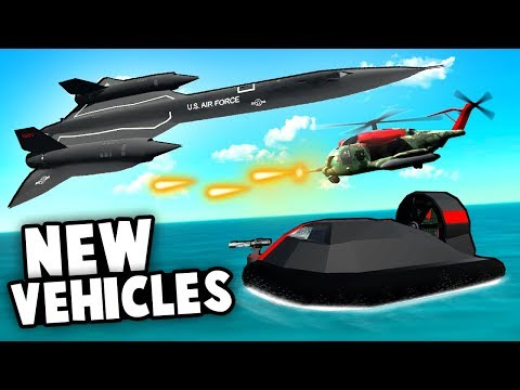 STEALTH PLANE Wipes Out NEW Tanks! Top Secret Tech