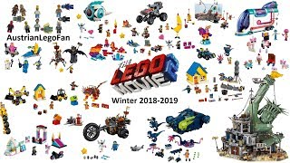 All The Lego Movie 2 Sets Winter 2018-2019 - Compilation - Lego Speed Build Review
