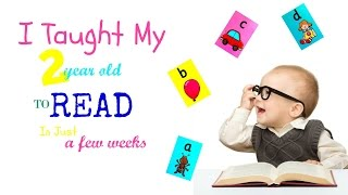 I Taught My 2 Year Old To Read In Just A Few Weeks | CleverClogsTV