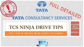 TCS NINJA FULL DETAILED PATTERN FOR RECRUITMENT DRIVE 2018