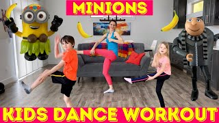 Kids Workout Dance - Despicable Me and Minion Dance Workout!