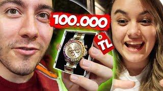 100.000 TL ROLEX ALDIM ŞAKASI