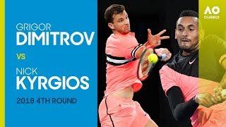 Grigor Dimitrov v Nick Kyrgios - Australian Open 2018 4R | AO Classics