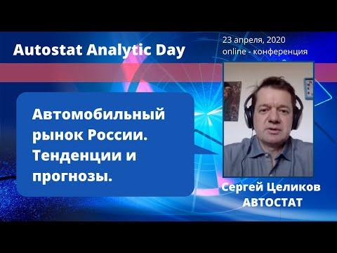 Сергей Целиков, АВТОСТАТ: Автомобильный рынок России. Тенденции и прогнозы.