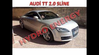 AUDİ TT Sline 2.0 hidrojen yakıt tasarruf sistem montajı