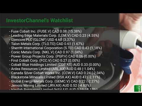 InvestorChannel's Cobalt Watchlist Update for Monday, Sept ... Thumbnail