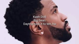 Ready Set   Kash Doll, Big Sean [ LYRICS ]