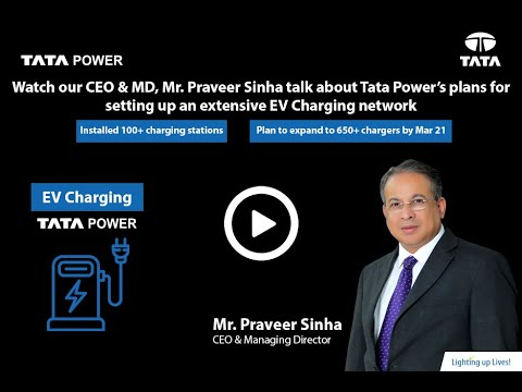 Tata Power's plans for setting up an extensive EV Charging network