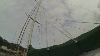 'Xplore' Expedition Sailing Yacht On Deck