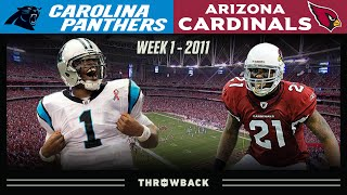 Cam & Pat Pete's EPIC First Game! (Panthers vs. Cardinals 2011, Week 1)