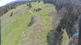 Self-Built FPV Quadcopter - Maiden Flight and Maiden Crash - RAW FOOTAGE