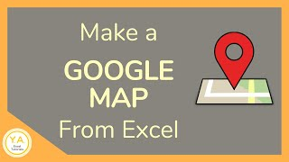 How to Make a Google Map from Excel - Tutorial 📍🗺️