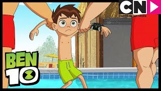 Ben 10 | Ben Gets Caught Spying on Gwen and Frightwig | All Wet | Cartoon Network