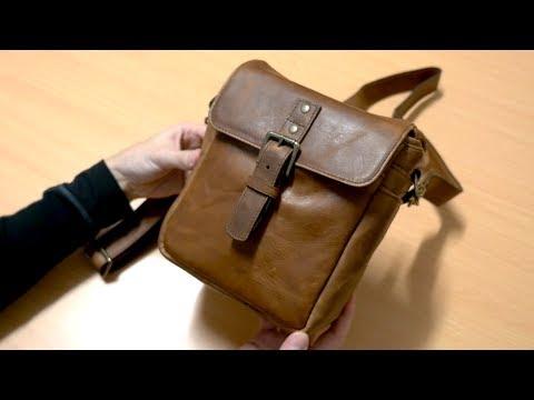 Ona Bowery Camera Bag Leather Dark Truffle