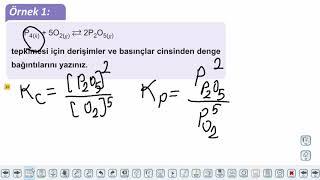 Eğitim Vadisi AYT Kimya 8.Föy Kimyasal Denge 1 Konu Anlatım Videoları