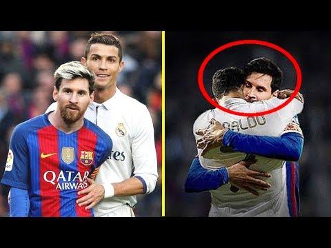 Cristiano Ronaldo vs Lionel Messi |  Momentos Hermosos #RESPECT