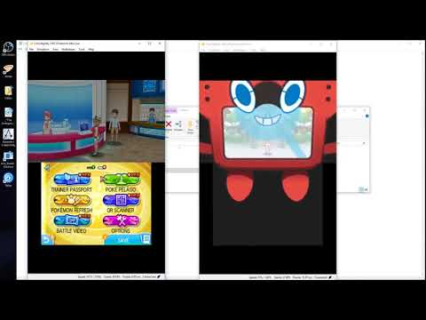 How to trade pokemon with yourself using Citra Emulator Pokemon