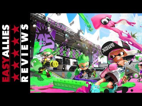 Splatoon 2 - Easy Allies Review - YouTube video thumbnail