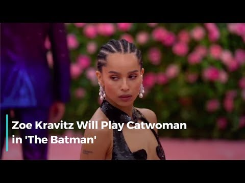 Zoe Kravitz Lands Catwoman Role In 'The Batman'