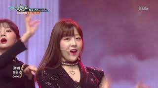 뮤직뱅크 Music Bank - 불을 켜 (Turn It On) - 라붐(LABOUM).20181214