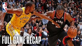 WARRIORS vs RAPTORS | KD & Kawhi Duel in OT | November 29, 2018