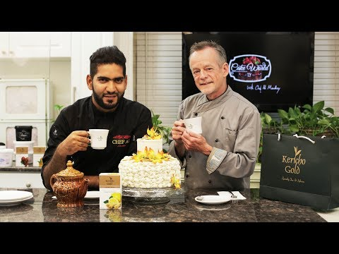 Cake World Tv Episode 6 | How to make a billowing cake | Chef Ali Mandhry | Chef Norman R Davis
