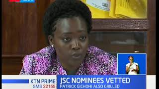 Parliamentary Justice and Legal affairs committee vets three nominees for JSC