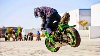 CRAZY! Motorcycle Riding WIN & FAIL Compilation 👌
