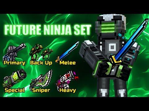 Pixel Gun 3D - Future Ninja Set