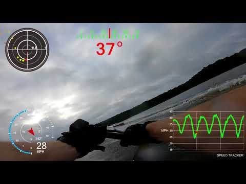 Slalom telemetry - GoPro Hero6 black — BallOfSpray Water Ski Forum