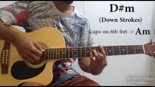 Teri Meri Kahani (Arijit Singh) - Guitar Lesson+Cover, Strumming Pattern, Progressions