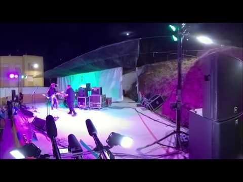 Grupo musical quarto 32 en el Festival Ampatízate/directo/360º