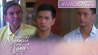 Michael and James are surprised when David didn't scold them | Nang Ngumiti Ang Langit