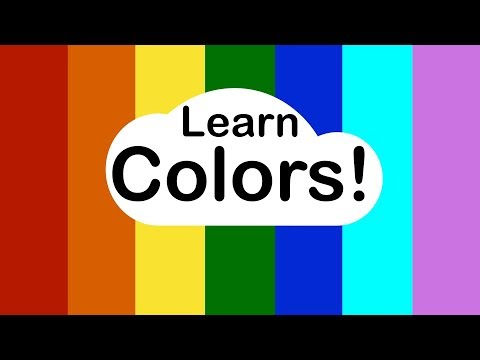 Learn Colors for Toddlers and Preschoolers
