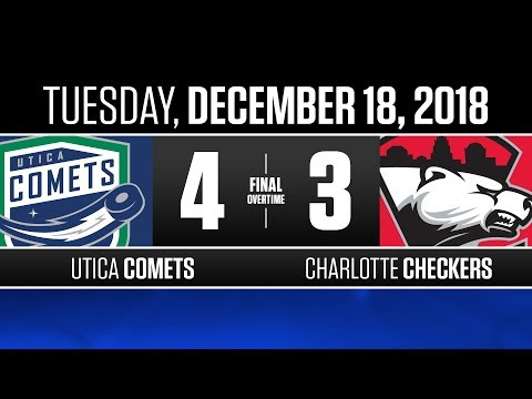 Comets vs. Checkers | Dec. 18, 2018