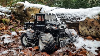 Tamiya GF-01 Toyota - Snow Trail &  Bash