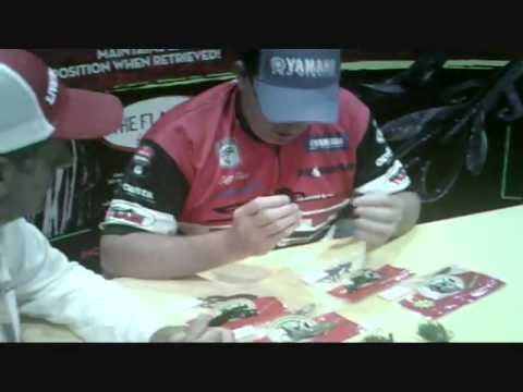 "WORLD CHAMPION !! "" CLIFF PACE""  talks about his new lures with Tony G"